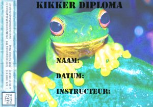 kikker-zwemdiploma